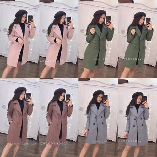 Áo khoác dạ nữ - áo dạ nữ - áo khoác nữ