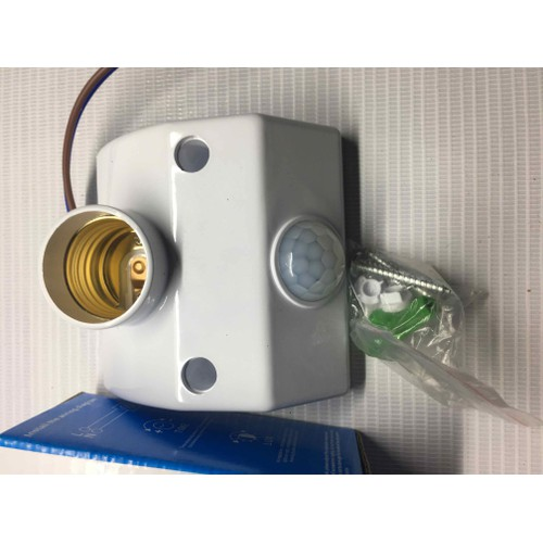 Đui đèn cảm biến 001 chuyển động hồng ngoại