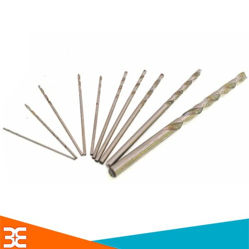 [Tp.HCM] Bộ 22 Mũi Khoan 0.5-0.6-0.7-0.8-0.9-1.0-1.2-1.5-2.0-3.0-5.0mm Mỗi Loại 2 Chiếc