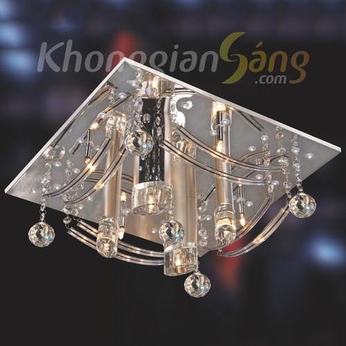 ĐÈN ỐP TRẦN LED VUÔNG_PHI 450mm