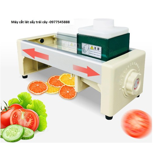 Máy thái hoa quả sấy