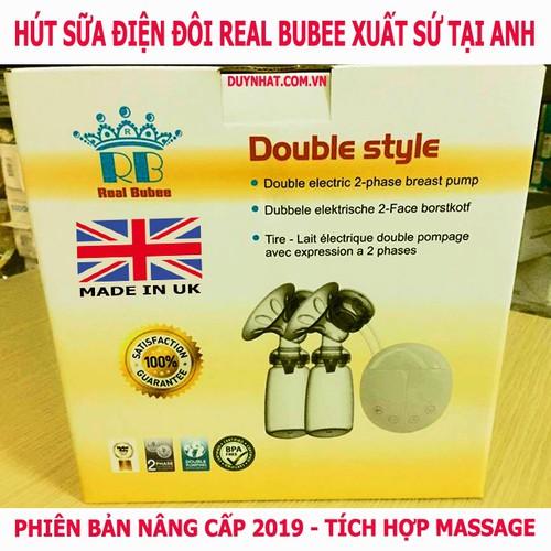Máy hút sữa Real Bubee -Thương hiệu máy hút sữa số 1 Anh Quốc