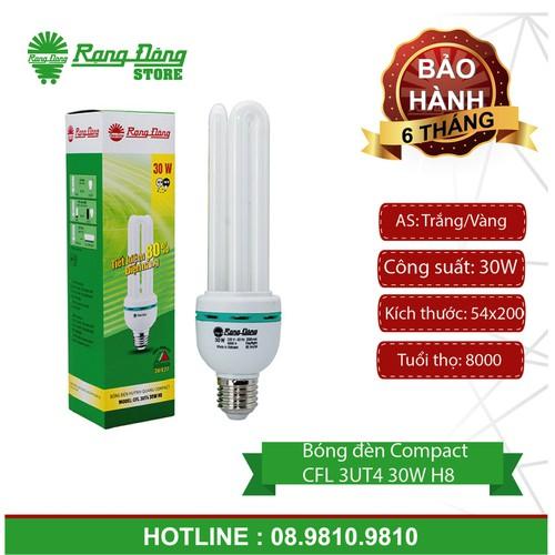 Bóng đèn huỳnh quang compact CFL 3UT4 30W H8
