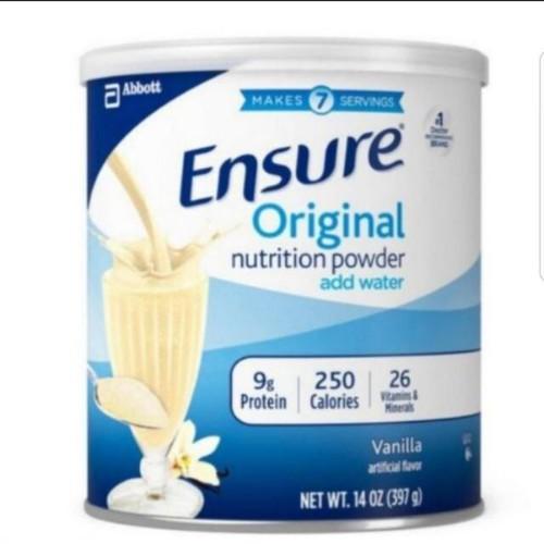 Sữa Bột Ensure Original Vanila 397gram Mỹ