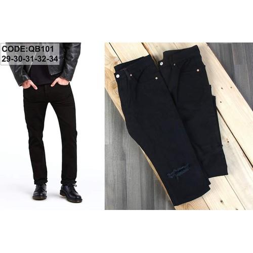 Quần jeans nam đen trơn sang trọng lịch lãm - 6604715 , 13271419 , 15_13271419 , 289000 , Quan-jeans-nam-den-tron-sang-trong-lich-lam-15_13271419 , sendo.vn , Quần jeans nam đen trơn sang trọng lịch lãm