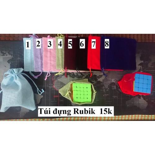 Phụ kiện Rubik. Túi đựng Rubik 2x2 đến 5x5