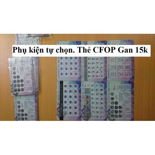 Phụ kiện Rubik. Thẻ CFOP GAN - 6008759 , 12522903 , 15_12522903 , 15000 , Phu-kien-Rubik.-The-CFOP-GAN-15_12522903 , sendo.vn , Phụ kiện Rubik. Thẻ CFOP GAN