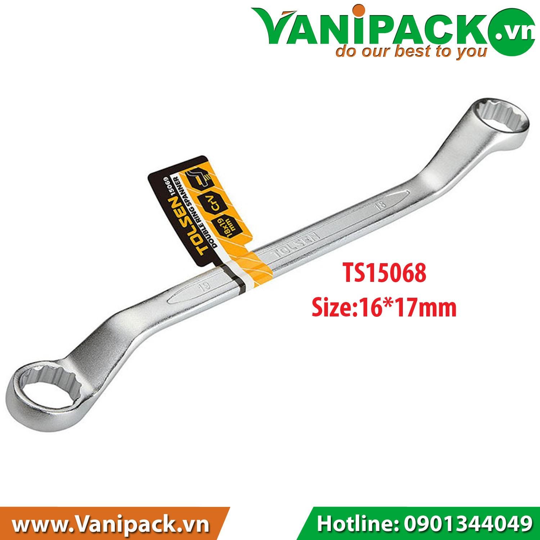 Chìa Khóa Vòng Vòng 16mm x 17mm Tolsen TS15068 - TS15068