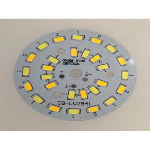 Bộ 10 Chíp led đèn âm trần 7W 3 màu phi 65mm
