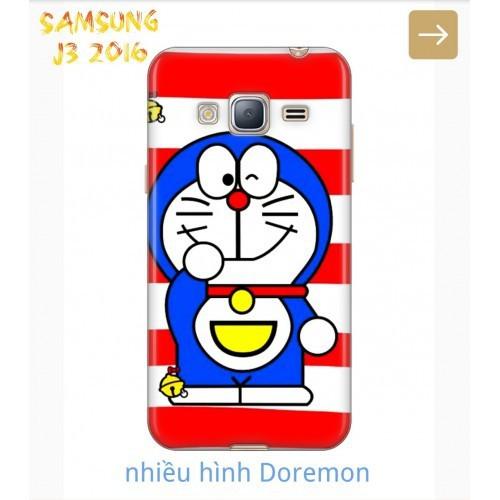 Ốp Lưng Samsung J3 2016 Nhiều Hình Doremon Cute