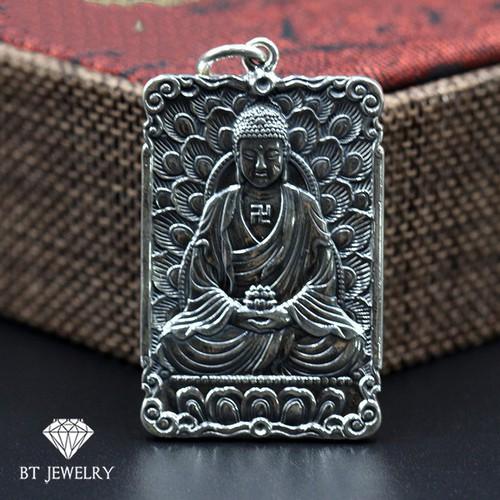 [FREESHIP 99K] Mặt Phật A Di Đà Hoa Sen Đặc - BT JEWELRY