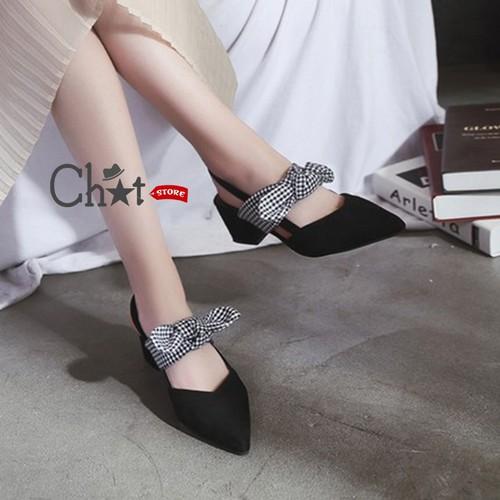 Sandal Cao Gót Nữ Cột Nơ Quai Cài - 5994811 , 12510878 , 15_12510878 , 220000 , Sandal-Cao-Got-Nu-Cot-No-Quai-Cai-15_12510878 , sendo.vn , Sandal Cao Gót Nữ Cột Nơ Quai Cài