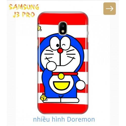 Ốp Lưng Samsung J3 Pro Nhiều Hình Doremon Cute