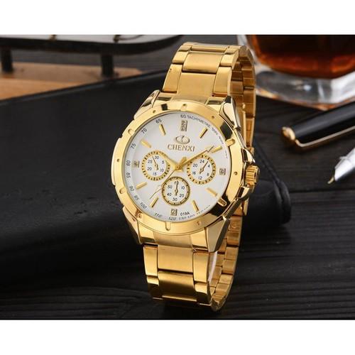 Đồng hồ nam Chenxi 6 dây vàng
