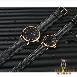 đồng hồ đôi dây da - đồng hồ đôi dây da 001 thumbnail