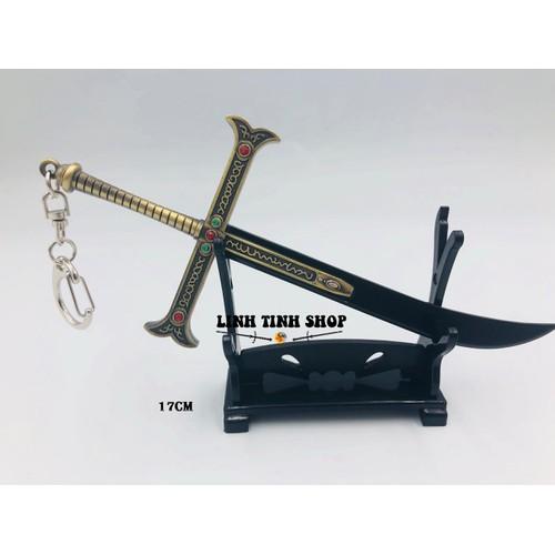 Móc khóa kiếm Mihawk - Mắt Diều Hâu - Onepiece - 6002296 , 12517532 , 15_12517532 , 120000 , Moc-khoa-kiem-Mihawk-Mat-Dieu-Hau-Onepiece-15_12517532 , sendo.vn , Móc khóa kiếm Mihawk - Mắt Diều Hâu - Onepiece