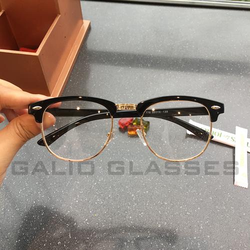 Kính cận gọng nhựa viền kim loại vàng + Tặng mắt cận miễn phí - 5993005 , 12509333 , 15_12509333 , 210000 , Kinh-can-gong-nhua-vien-kim-loai-vang-Tang-mat-can-mien-phi-15_12509333 , sendo.vn , Kính cận gọng nhựa viền kim loại vàng + Tặng mắt cận miễn phí