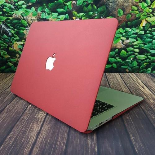Ốp đỏ đô tuyệt đẹp cho Macbook 15 Pro retina