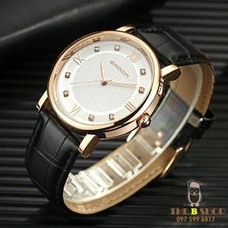 đồng hồ đôi dây da - đồng hồ đôi dây da 001 4