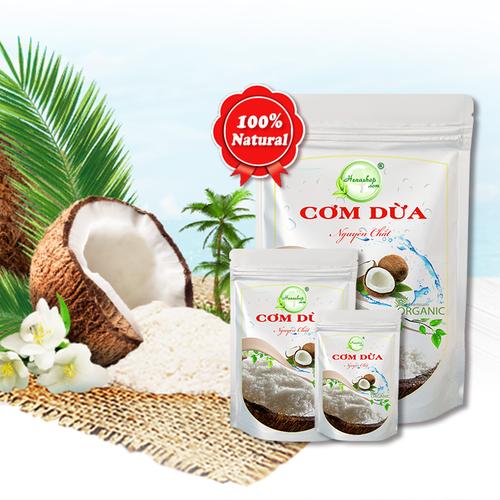 Bộ 2 Gói Bột Cơm Dừa Sấy Khô 200gr - Henashop