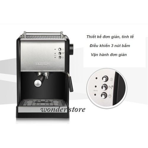 Máy pha cà phê Espresso Gotech CM-26A  bán tự động 15bar - 6002266 , 12517479 , 15_12517479 , 4500000 , May-pha-ca-phe-Espresso-Gotech-CM-26A-ban-tu-dong-15bar-15_12517479 , sendo.vn , Máy pha cà phê Espresso Gotech CM-26A  bán tự động 15bar