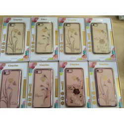 ỐP lưng đính đá Kingxbar cho IPhone  6 Plus IPhone 7 Plus-IPhone 8 Plus