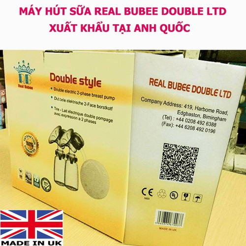 ĐỒ DÙNG CHO MẸ HÚT SỮA REAL BUBEE DOUBLE STYLE ANH