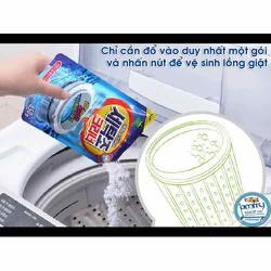 Vệ sinh lồng giặt  - Tẩy lồng máy giặt sét 2