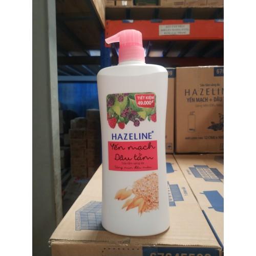 Sữa Tắm Dưỡng Sáng Da Hazeline Yến Mạch 900ml