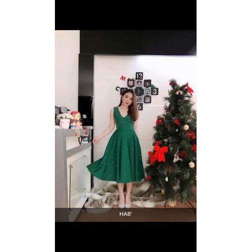 Đầm đính đá SALE21