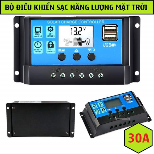 Tặng cáp-bộ điều khiển tấm pin năng lượng mặt trời 30a 12v-24v 2 cổng usb 5v-2a - 18043223 , 12518510 , 15_12518510 , 300000 , Tang-cap-bo-dieu-khien-tam-pin-nang-luong-mat-troi-30a-12v-24v-2-cong-usb-5v-2a-15_12518510 , sendo.vn , Tặng cáp-bộ điều khiển tấm pin năng lượng mặt trời 30a 12v-24v 2 cổng usb 5v-2a