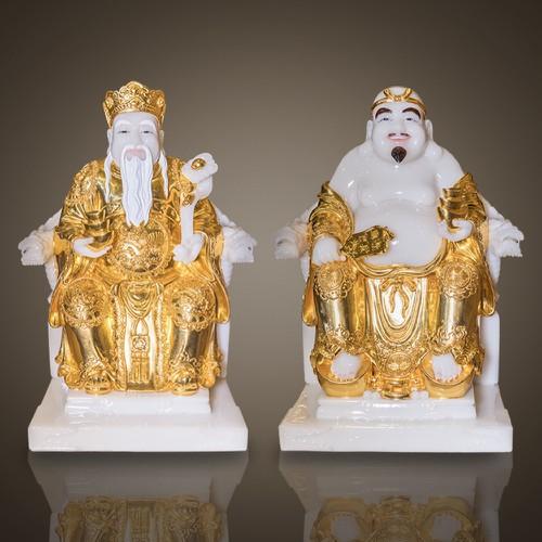 Bộ Thần Tài Thổ Địa Thép Vàng MS146-02