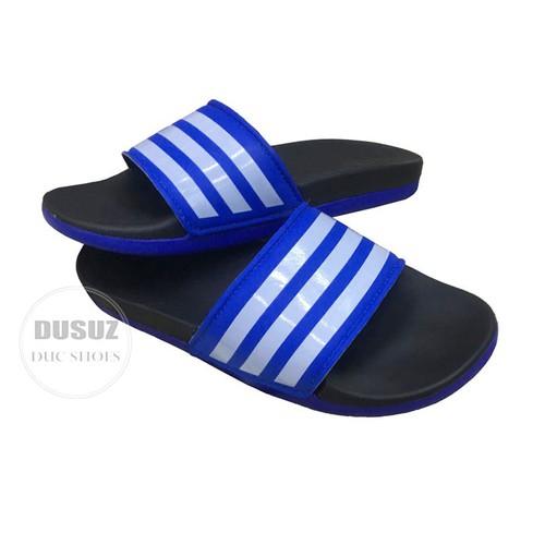 Dép bánh mì Nữ - êm chân -màu xanh đen