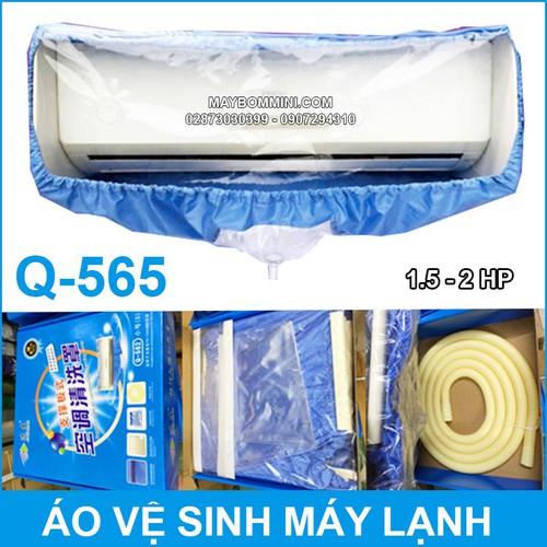 Áo Trùm Vệ Sinh Máy Lạnh Cao Cấp Q-565