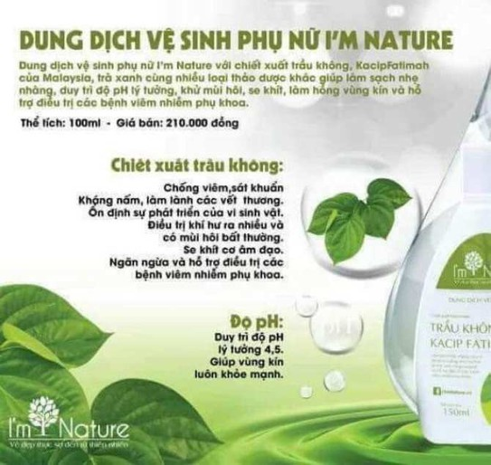 Vệ sinh phụ nữ I am Nature - Vệ sinh phụ nữ I am Nature 2