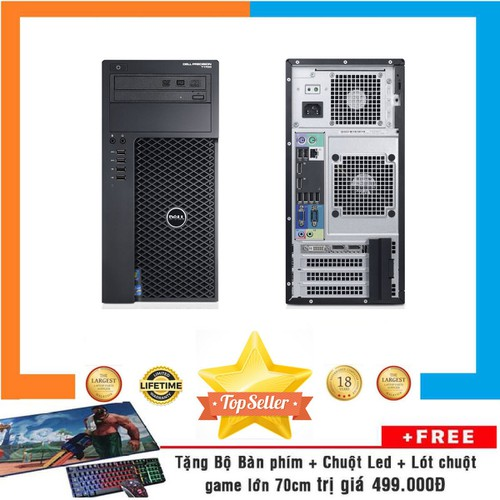 PC Dell Precision T1700 MT, E3-1240 V3,R8GB,SSD120GB,Quadro K2000 2GB