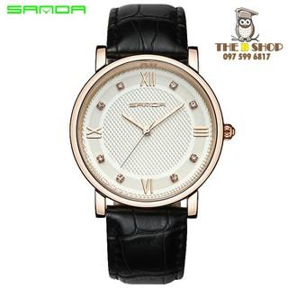 đồng hồ đôi dây da - đồng hồ đôi dây da 001 2