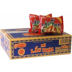 Thùng mì Lẩu Thái Tôm 30 gói