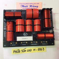 Bộ phân tần loa H-883 giá cho 2 mạch