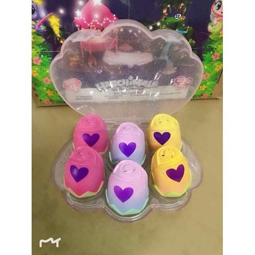 Hộp Sò 6 trứng Hatchimals chính hãng ss5