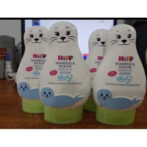 Sữa tắm, gội Hipp cho bé 200ml
