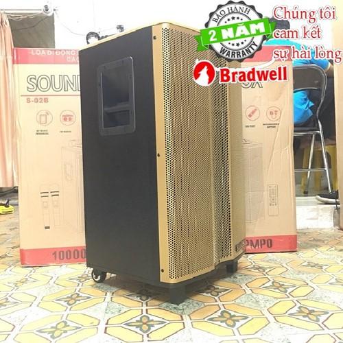 Loa kéo di động Bradwell S-02B PRO ÂM THANH CHUẨN Japan BH 2 năm