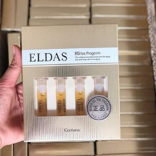 Set mini Eldas tế bào gốc 4 ống như hình - Hàng chính hãng
