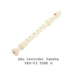 Sáo Recorder Yamaha YRS23 TONE G màu ngà
