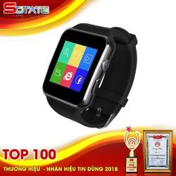Đồng Hồ Thông Minh Smartwatch Màn Hình Cong SX6 Màu Đen