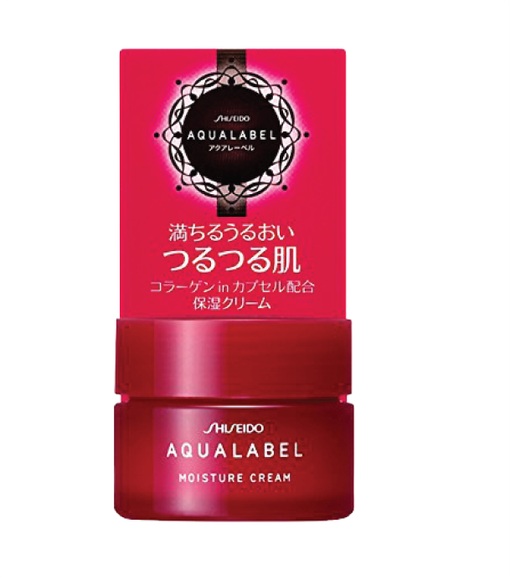 Kem dưỡng #Shiseido Aqualabel Moisture Cream màu đỏ 30g50g 2