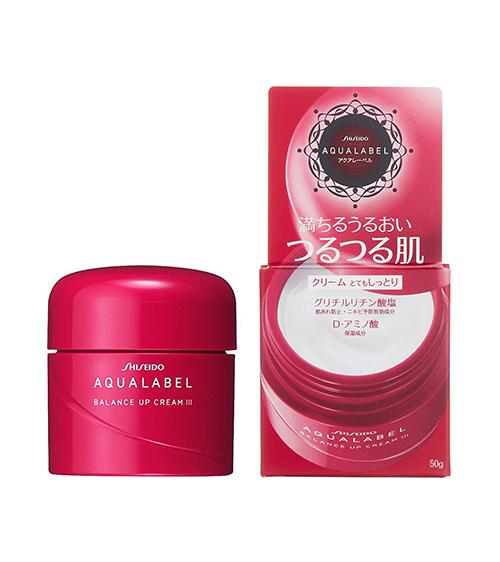 Kem dưỡng #Shiseido Aqualabel Moisture Cream màu đỏ 30g50g 3