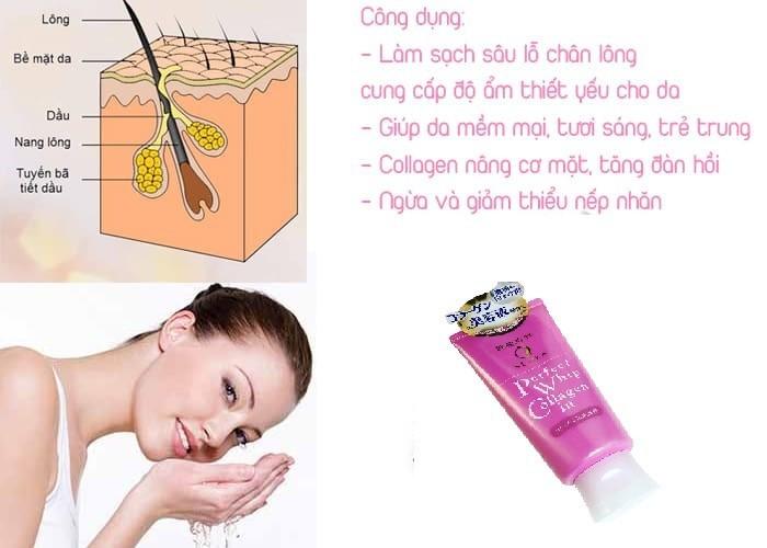 Sữa rửa mặt Whip Collagen - Sữa rửa mặt Whip Collagen 3