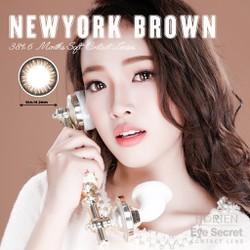 Kính áp tròng màu dùng 6 tháng Eye Secret Contact Lens - Newyork Brown