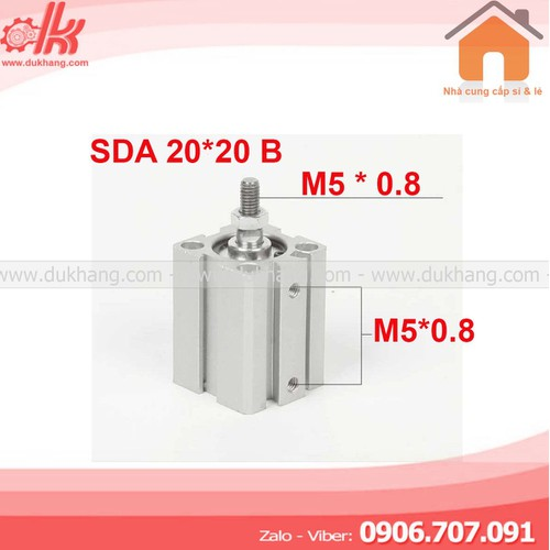 Xy lanh vuông SDA 20X20